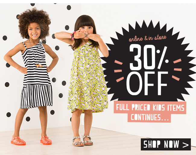 YES! 30% off continues