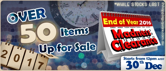 End Of Year Madness Clearance – Over 50 HOT Deals are BACK by Demand