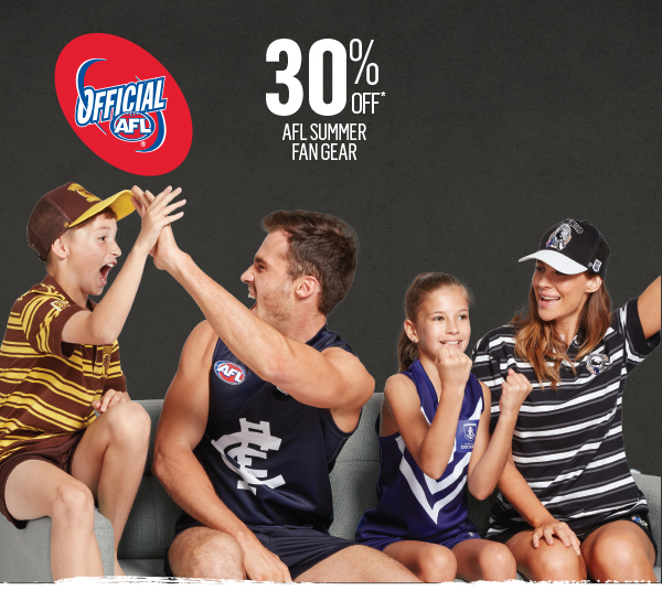 The perfect gift for the AFL footy fan…30% off*
