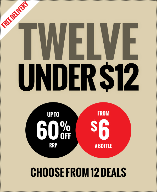 12 Deals. From $6 each. Pick your spot!