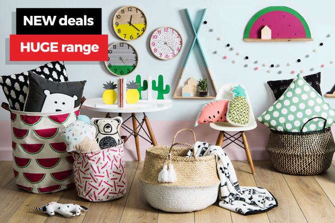 NEW! Kids' Bedroom Decor & more   TOP Accessories for Women   End of Year Protein CLEARANCE – up to 55% OFF