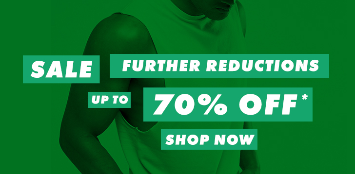 Further reductions – up to 70% off