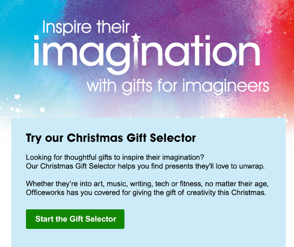 find the perfect gift with our Christmas Gift Selector