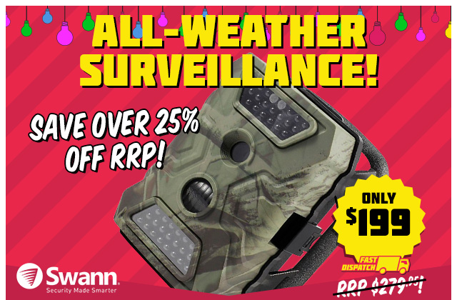 Swann All-Weather OutbackCam Only $199 (RRP $279.95)