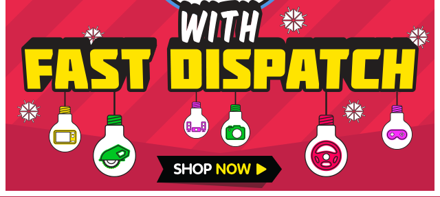 Christmas Gifts with Fast Dispatch!