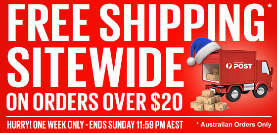 FREE SHIPPING – On Orders Over $20!