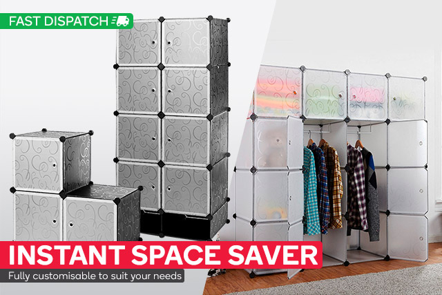 Modular Storage from $15   Save up to 60% on Furniture!