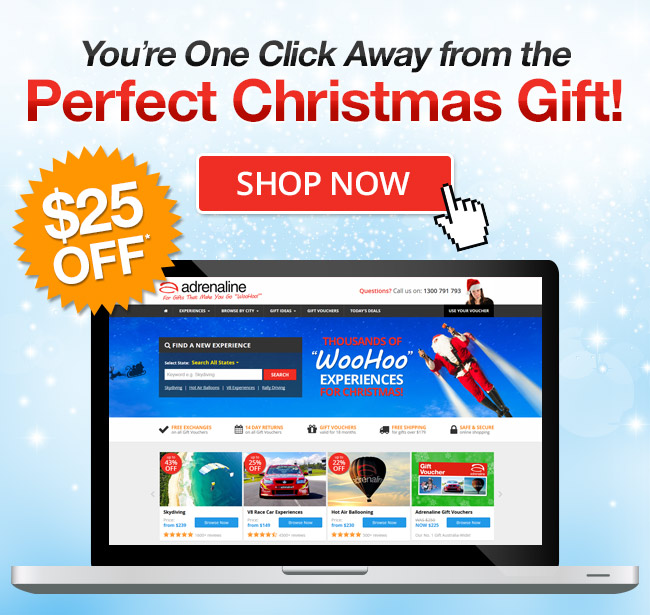 You're One Click Away from the Perfect Christmas Gift!