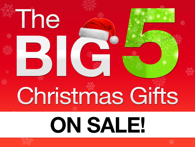 The Big 5 Christmas Gifts! - Deals and Coupons - Best Bargains