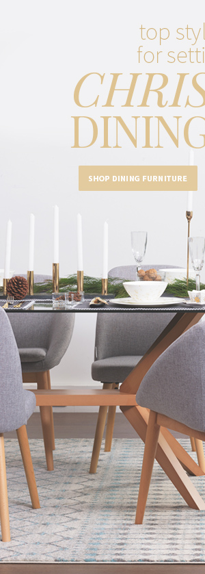 The ultimate guide to styling your Christmas dining table