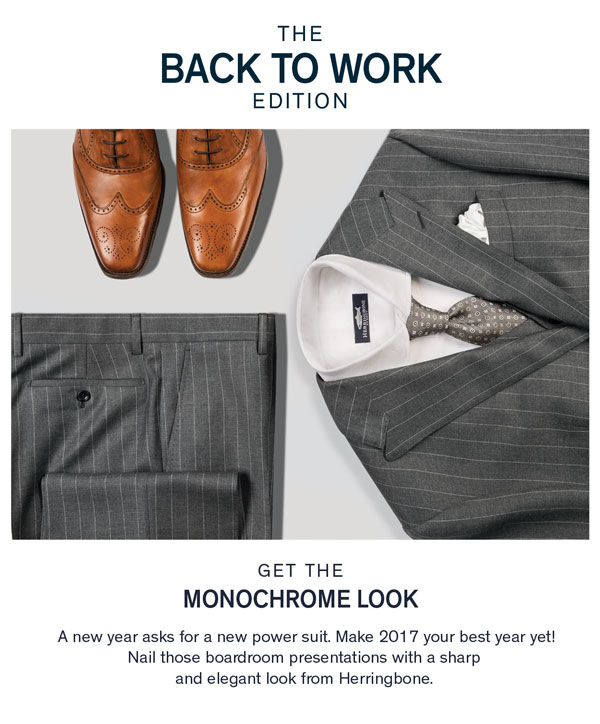 The Back to Work Edition: New Year Picks from Herringbone