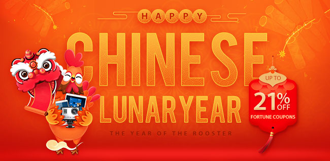 THE DRAGON RISES   Totally Epic Chinese Lunar Year Deals
