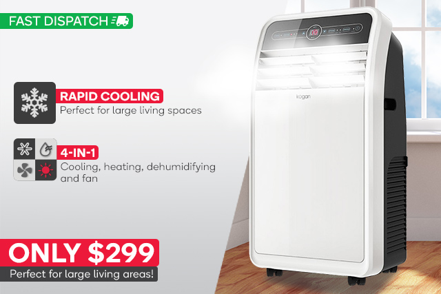 3 5kw reverse cycle portable air conditioner  299 - deals and coupons