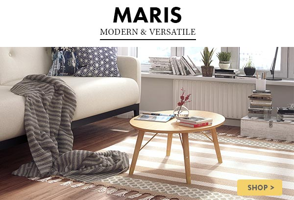 New Dining & Coffee Table Set For The Cool & Contemporary Home