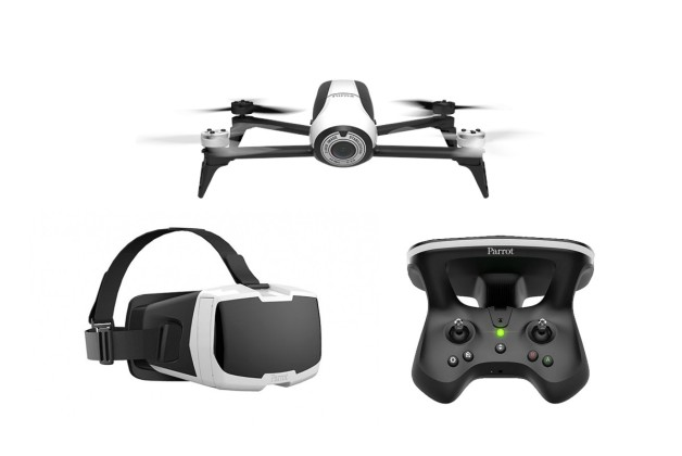 Parrot Bebop 2 Drone FPV Pack with Skycontroller 2 and