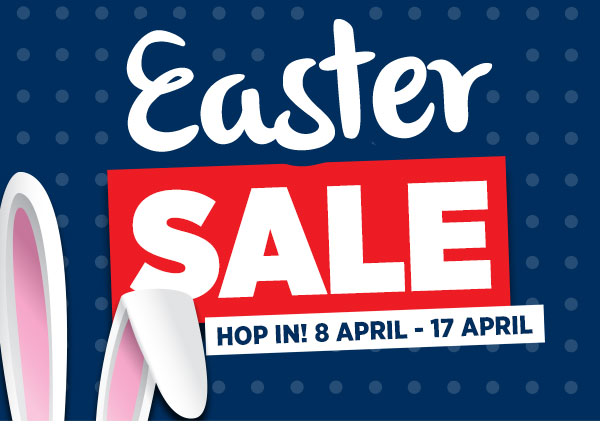 Easter Sale on Now! Save on Lounges, Dining, Bedroom, Outdoor & more