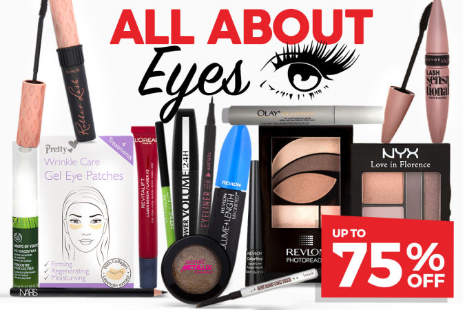 Up To 75% Off Cosmetics & Skincare