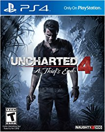 """""""Uncharted 4: A Thief's End"""" ($28.50/52% off)"""