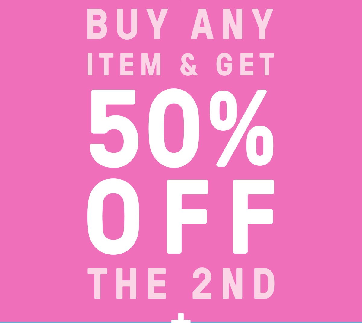 It's so BUNNY good! Get 50% off the second!! ? Ends Monday