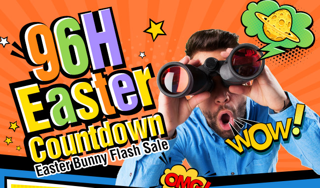 96H EASTER COUNTDOWN | Be Faster than the Easter Bunny