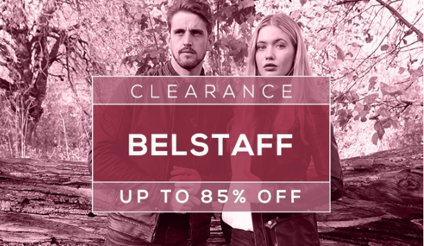 Clearance Belstaff  UP TO 85% OFF