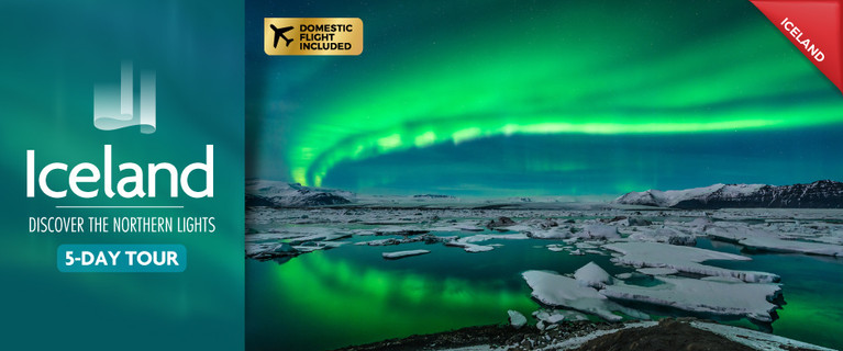 Five-Day Iceland Northern Lights Tour Only $699 per person (twin share), valued up to $999.