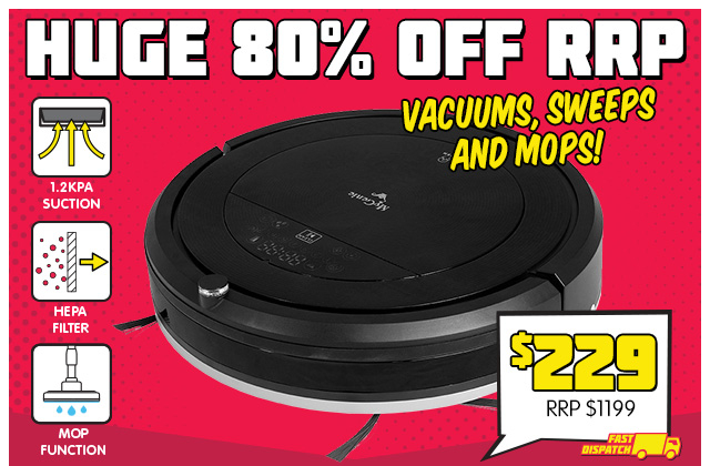 Robot Vacuum with 80% OFF RRP