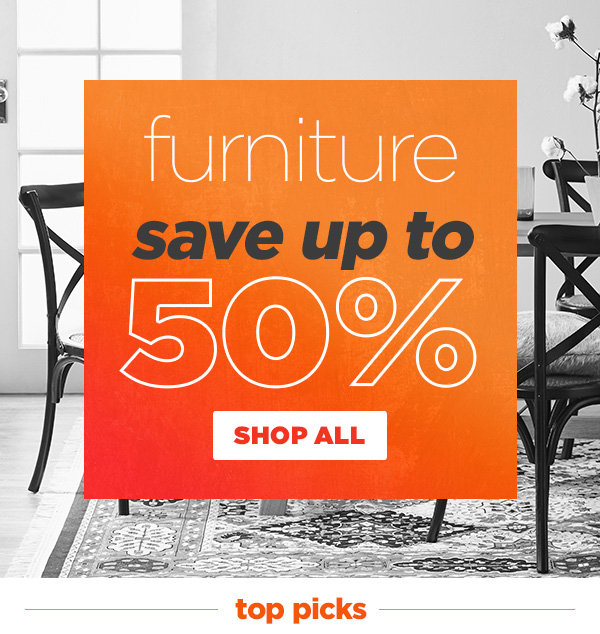Up to 55% off Scandi & coastal furniture faves in our MID SEASON SALE