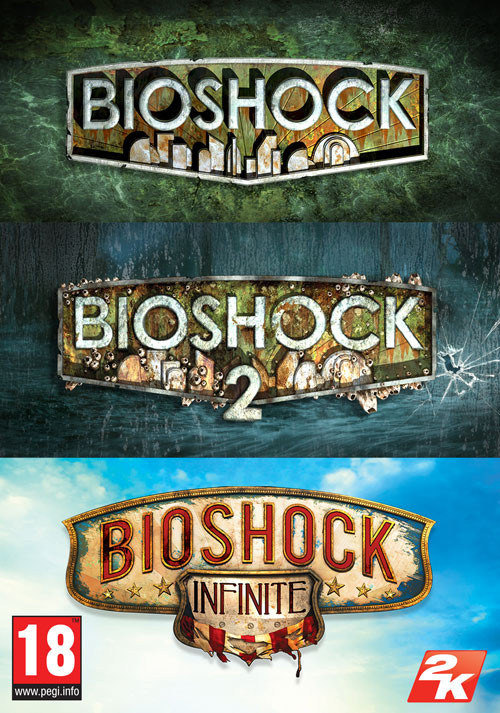 BioShock Triple Pack (also contains BioShock 1&2 Remastered) — $10.61 / €9,99 / £8.55   86% off / Steam key