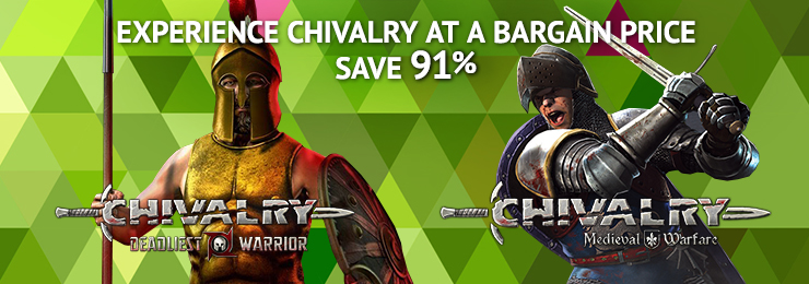 Ubisoft titles up to 77% off / Bethesda up to 58% / Mount & Blade games 72% off