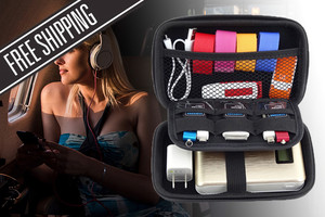 Electronic Accessories Travel Organiser Keep Your Electronics Charged and Tidy … From  $10