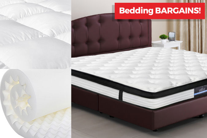 Mattresses & Toppers On Sale