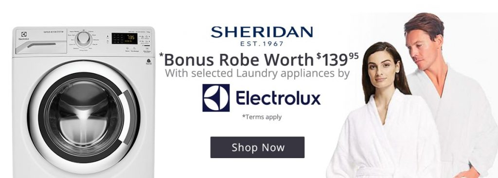 electrolux bonus robe promotion worth deals and coupons best bargains. Black Bedroom Furniture Sets. Home Design Ideas