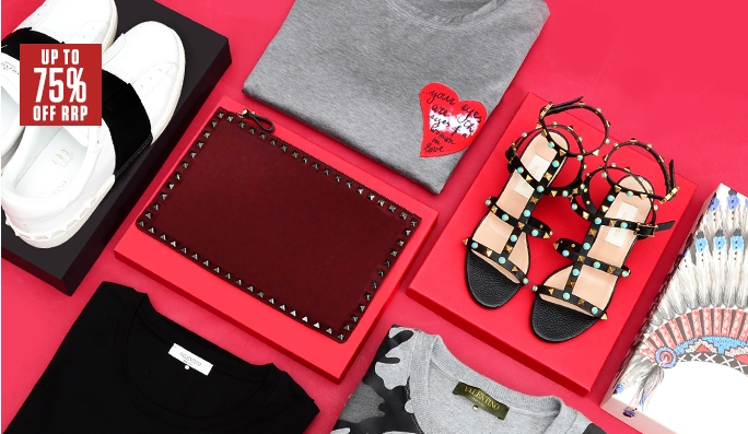 Valentino up to 75 off deals and coupons best bargains for Dive bar shirt club promotion codes