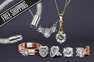 Jewellery Featuring Crystals From Swarovski… Plus Free Shipping!