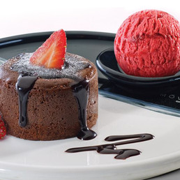 Enjoy a chocolate fondant and hot drink for two for $16 (valued up two $31.80)