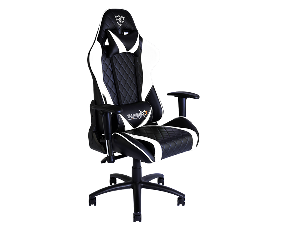 Fine Thunderx3 Tgc15 Bw Gaming Chair 229 Dont Pay 269 Pdpeps Interior Chair Design Pdpepsorg