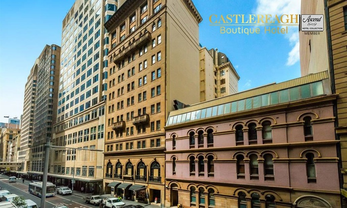 Sydney cbd 4 star escape for two 159 deals and coupons for Boutique hotel deals