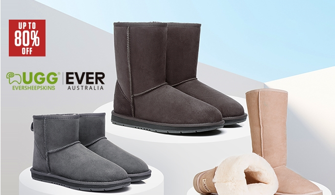 261dd1f511e Ever Australia UGGS UP TO 80% OFF - Deals and Coupons - Best Bargains