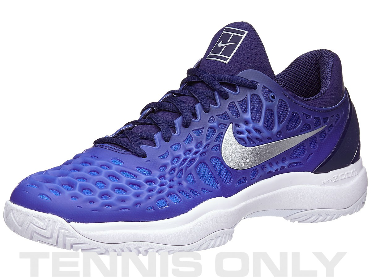 best sneakers 2d2cd dd676 30% Off All Nike Shoes | Nike Zoom Cage 3 Blue/Grey Men's ...