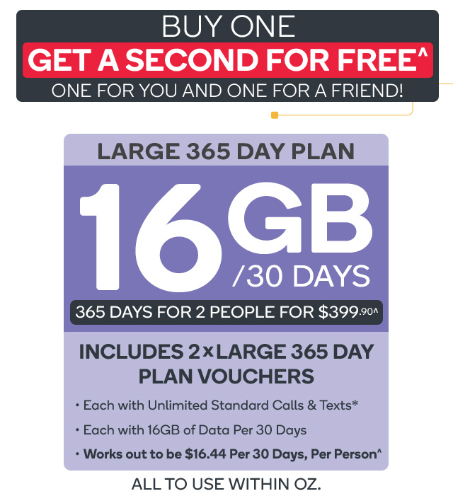Best prepaid mobile plans 365 days