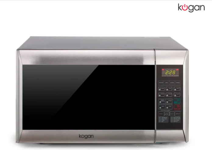 Kogan 32l Stainless Steel Convection Microwave Oven With